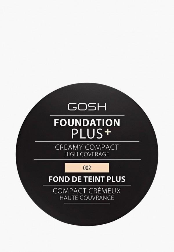 Купить Тональное средство Gosh, Foundation Plus+ 002, 30 мл, GO025LWCJYZ8, прозрачный, Осень-зима 2018/2019