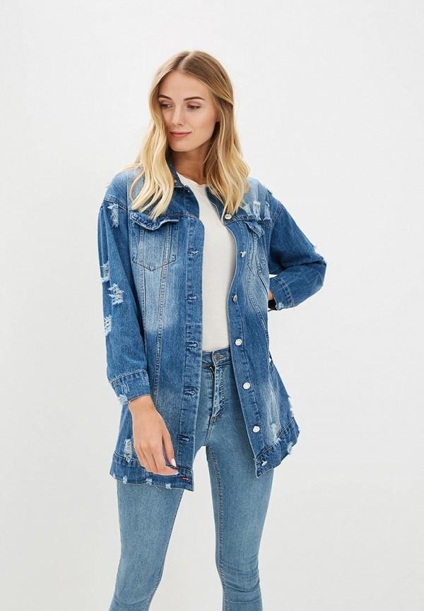 Куртка джинсовая GOA GOA GO028EWBMQS9 блузка goa