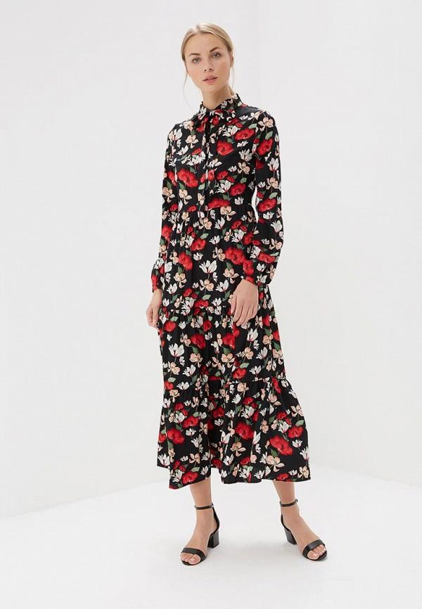 Купить Платье GOA, GO028EWBMQU1, черный, Весна-лето 2018