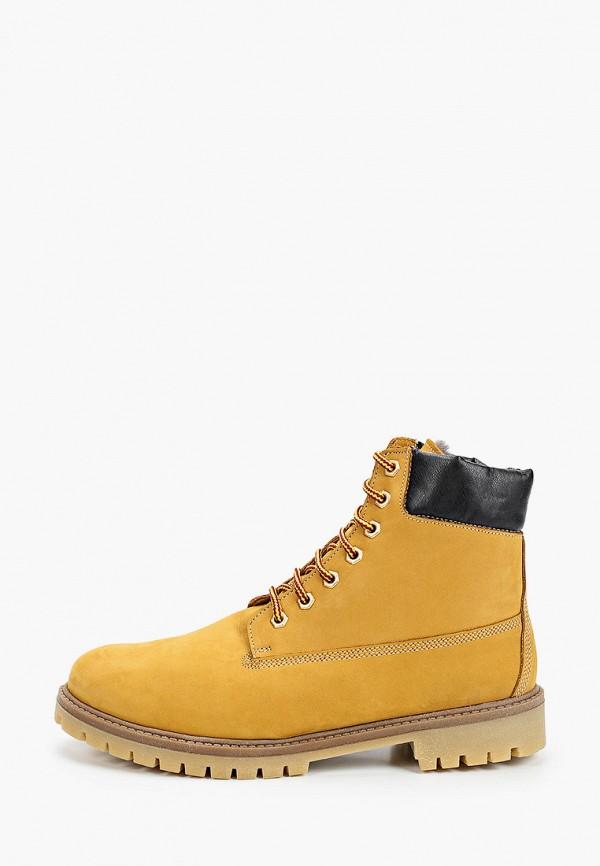 мужские ботинки goodzone, желтые