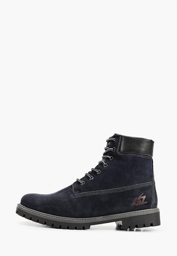 мужские высокие ботинки goodzone, синие