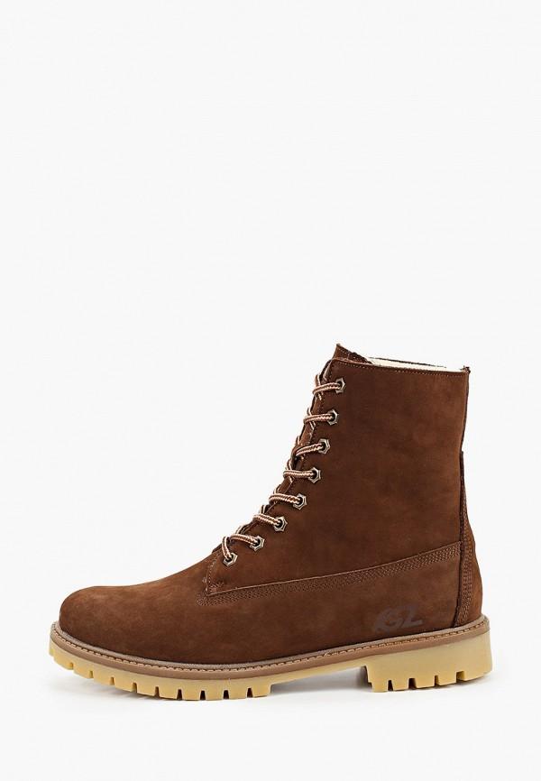мужские высокие ботинки goodzone, коричневые