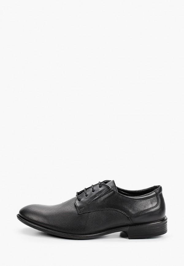 мужские туфли-дерби goodzone, черные