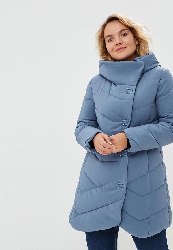 Купить Куртка утепленная Goldrai, GO030EWCVPD3, голубой, Осень-зима 2018/2019
