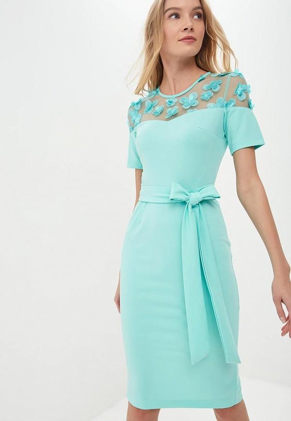 женское повседневные платье goldrai, зеленое