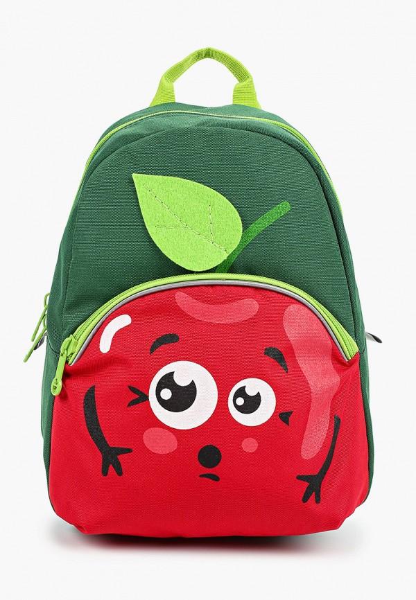 рюкзак grizzly для девочки, зеленый