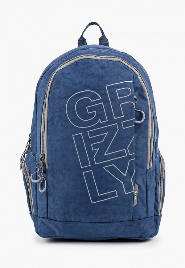 рюкзак grizzly малыши, синий