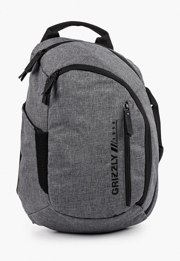 рюкзак grizzly малыши, серый