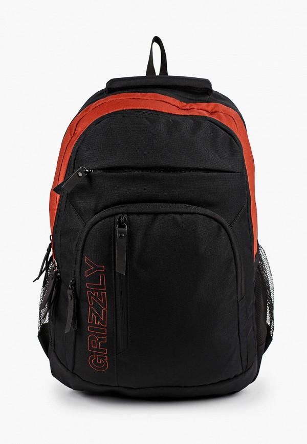 рюкзак grizzly малыши, черный