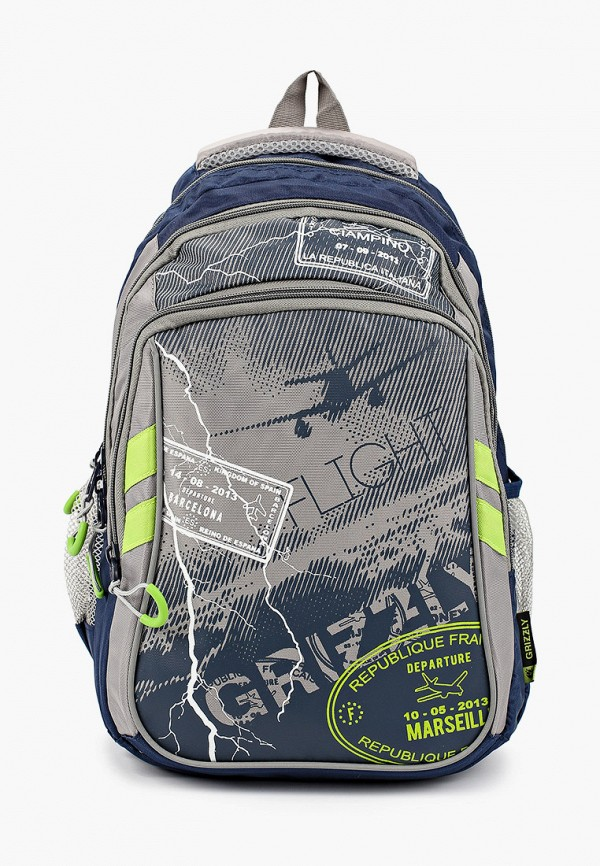 Рюкзак Grizzly Grizzly GR015BKGHVF9 рюкзак grizzly grizzly mp002xb004kd