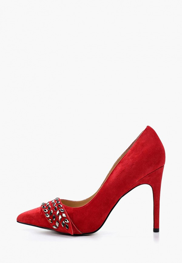 женские туфли grand style, красные