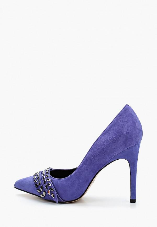 женские туфли grand style, голубые