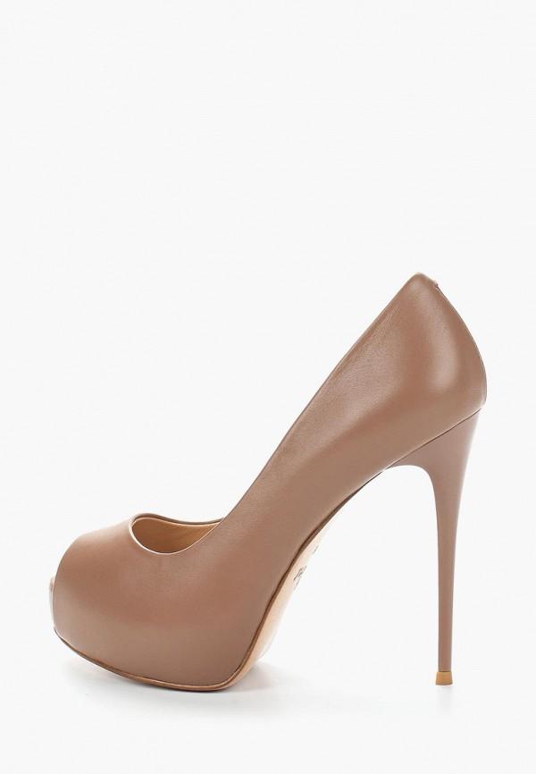 женские туфли grand style, коричневые