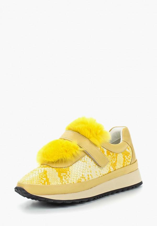 женские кроссовки grand style, желтые