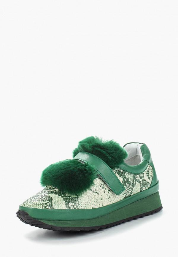 женские кроссовки grand style, зеленые