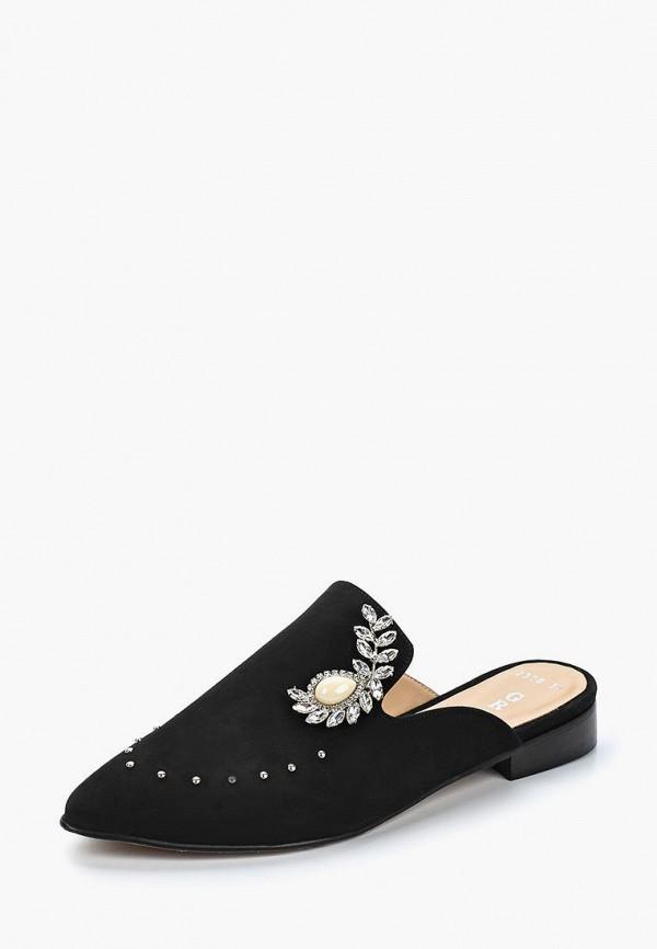 Купить женские сабо Grand Style черного цвета