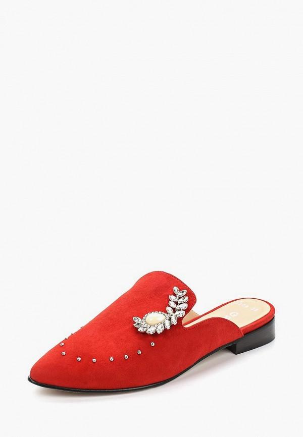 Купить женские сабо Grand Style красного цвета
