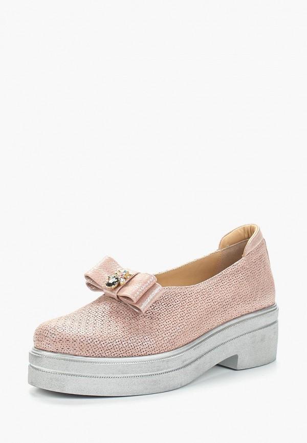 женские туфли grand style, розовые