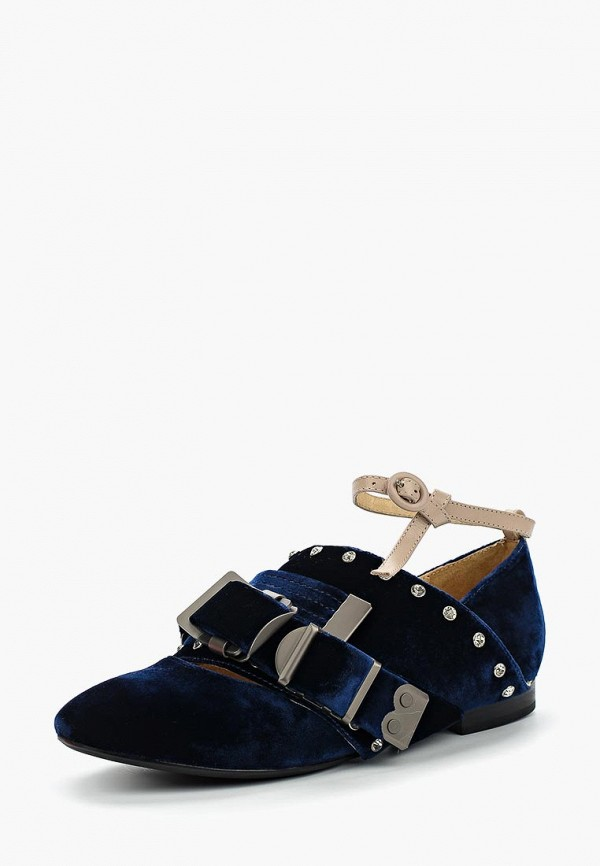 женские туфли grand style, синие