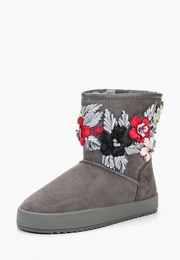 Купить Полусапоги Grand Style, GR025AWCPLN6, серый, Осень-зима 2018/2019