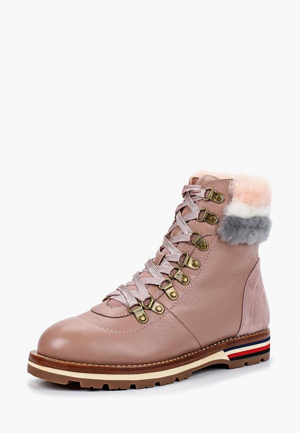 женские ботинки grand style, розовые