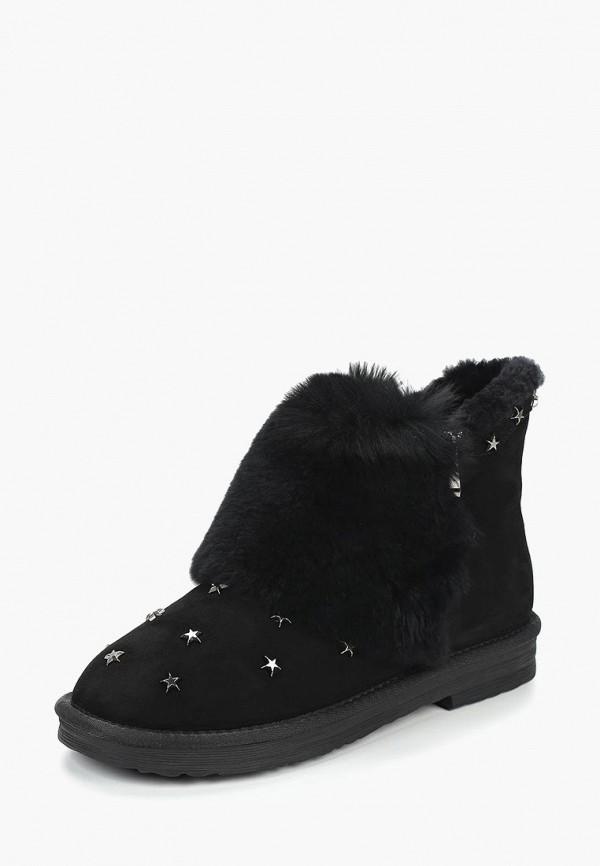 женские ботинки grand style, черные
