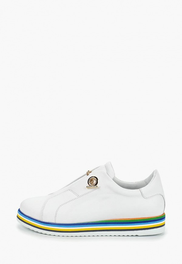 Купить Ботинки Grand Style, gr025aweaqu7, белый, Весна-лето 2019