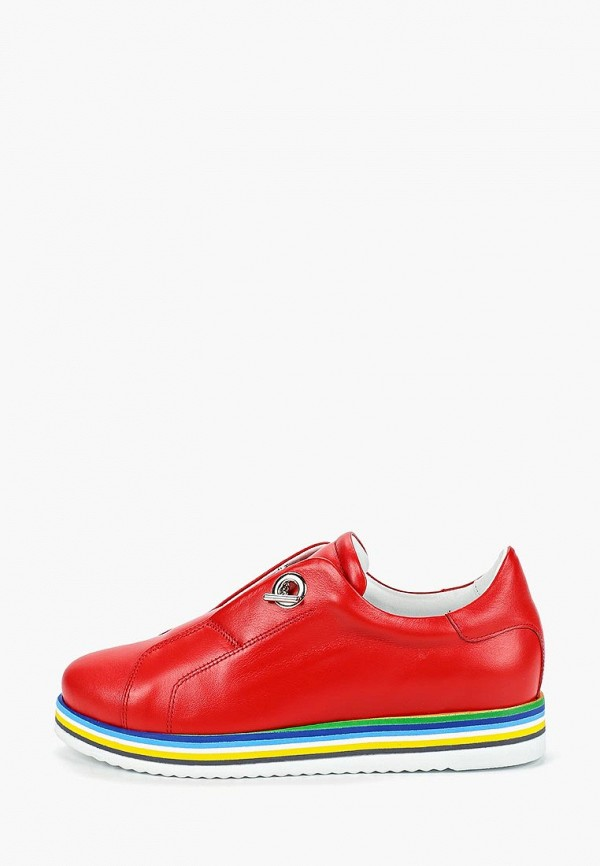 женские ботинки grand style, красные