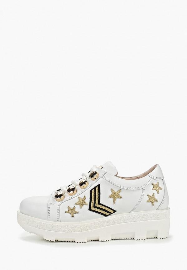 женские ботинки grand style, белые