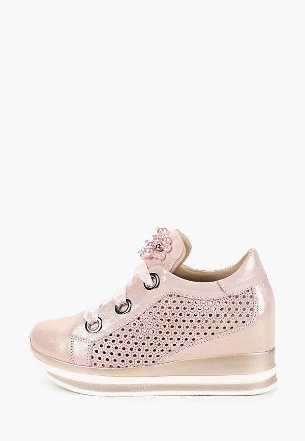 Купить Кеды на танкетке Grand Style, gr025aweaqv8, розовый, Весна-лето 2019