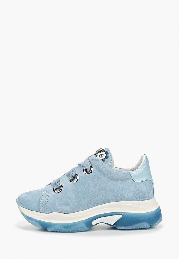 женские ботинки grand style, голубые