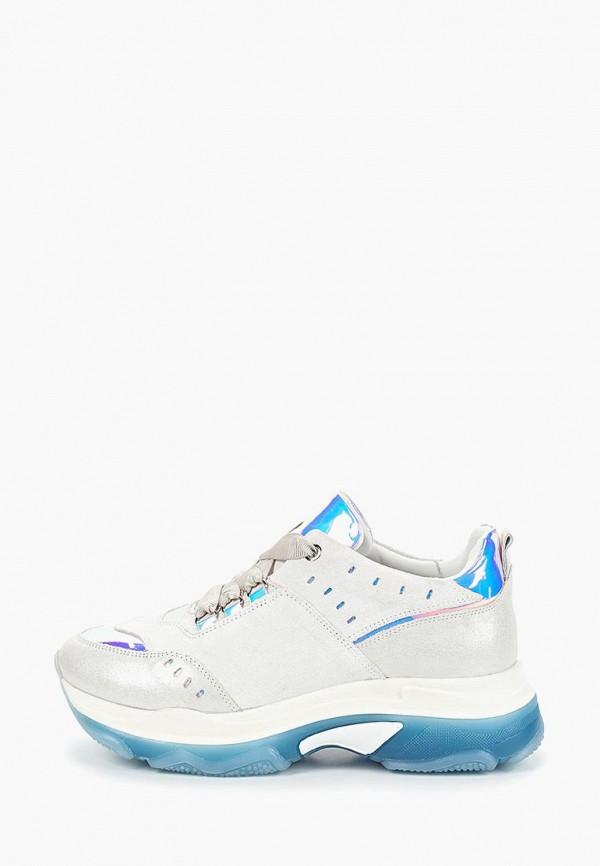 женские кроссовки grand style, голубые