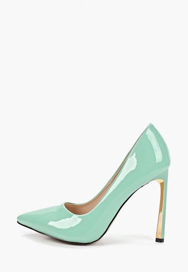 женские туфли grand style, бирюзовые