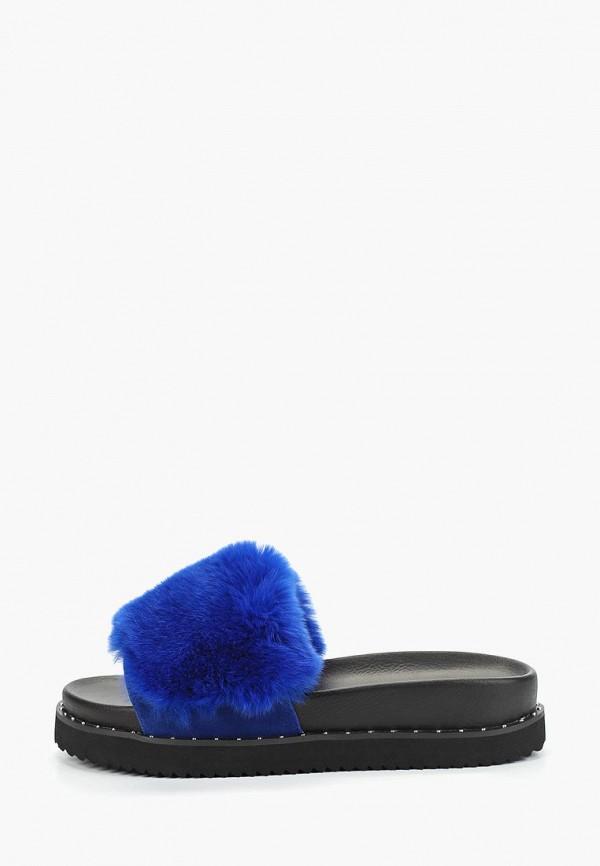 женское сабо grand style, синее