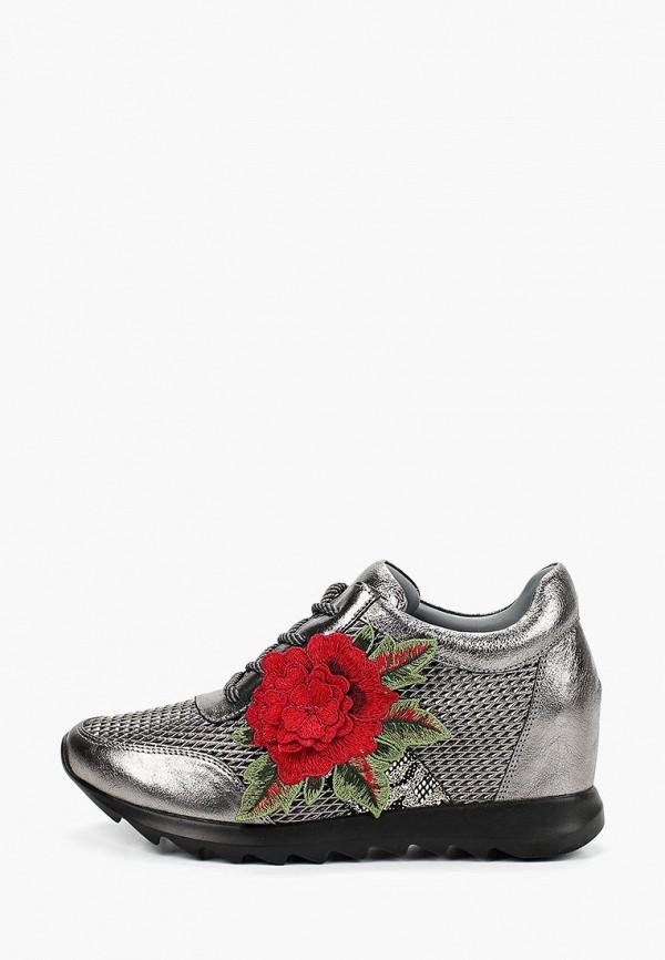 Фото - женские кроссовки Grand Style серебрянного цвета