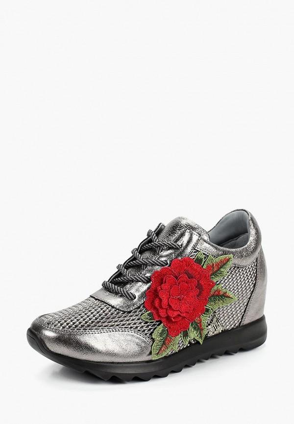 Фото 2 - женские кроссовки Grand Style серебрянного цвета
