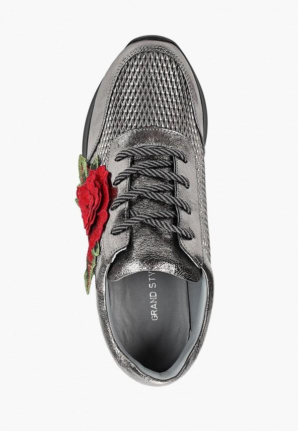 Фото 4 - женские кроссовки Grand Style серебрянного цвета