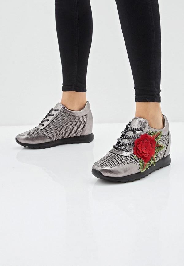 Фото 6 - женские кроссовки Grand Style серебрянного цвета