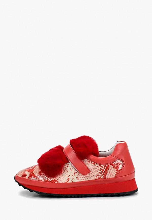 женские кроссовки grand style, красные