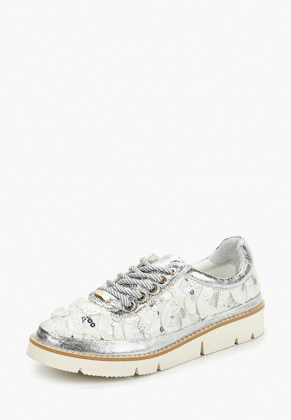 Фото 2 - женские ботинки и полуботинки Grand Style серебрянного цвета