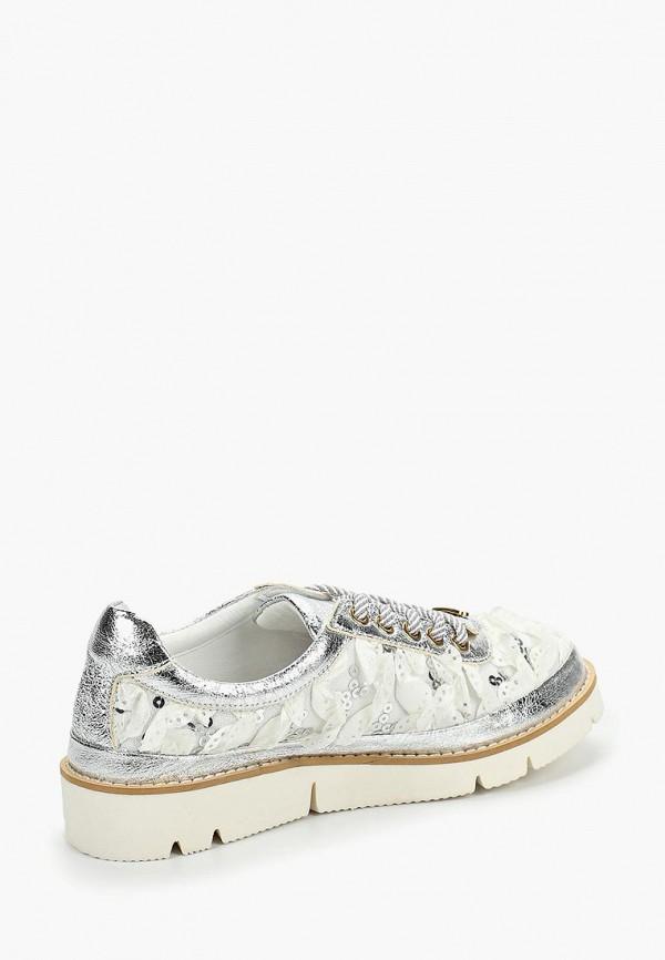 Фото 3 - женские ботинки и полуботинки Grand Style серебрянного цвета