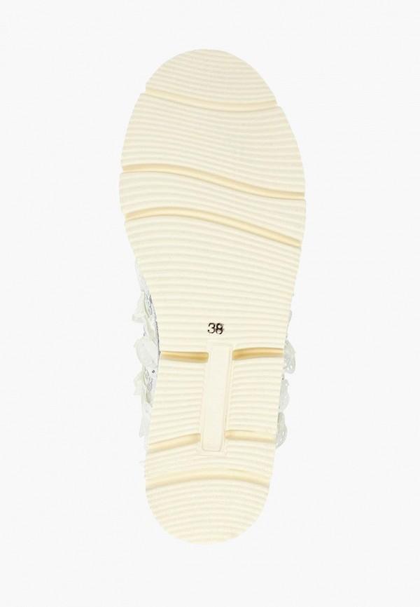 Фото 5 - женские ботинки и полуботинки Grand Style серебрянного цвета