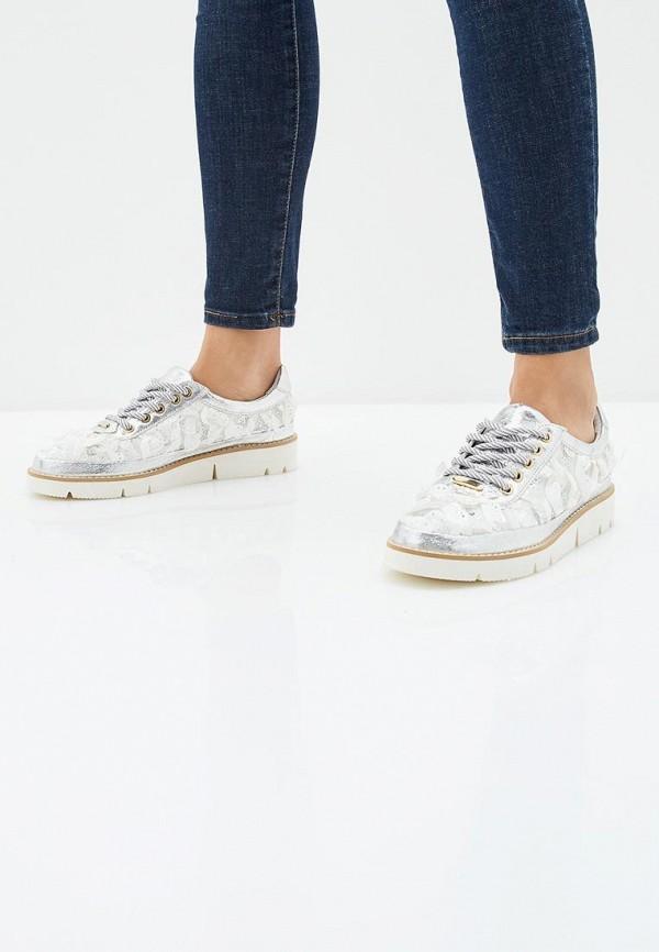 Фото 6 - женские ботинки и полуботинки Grand Style серебрянного цвета