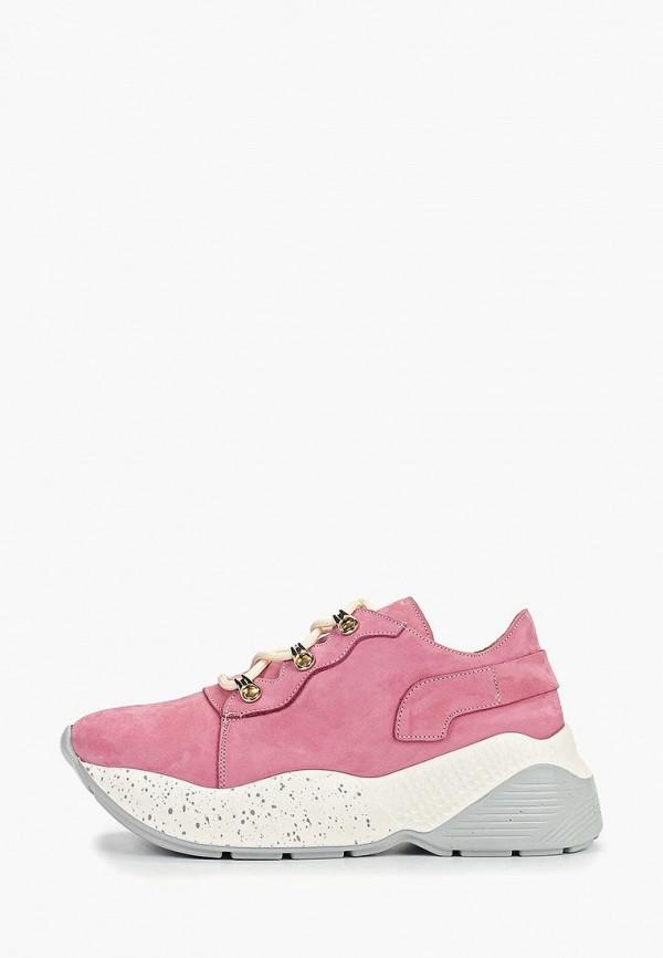 женские кроссовки grand style, розовые
