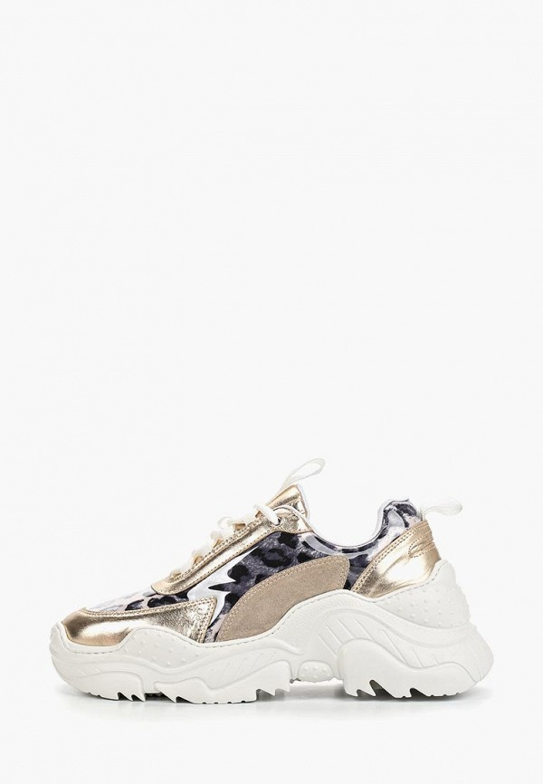 женские кроссовки grand style, золотые