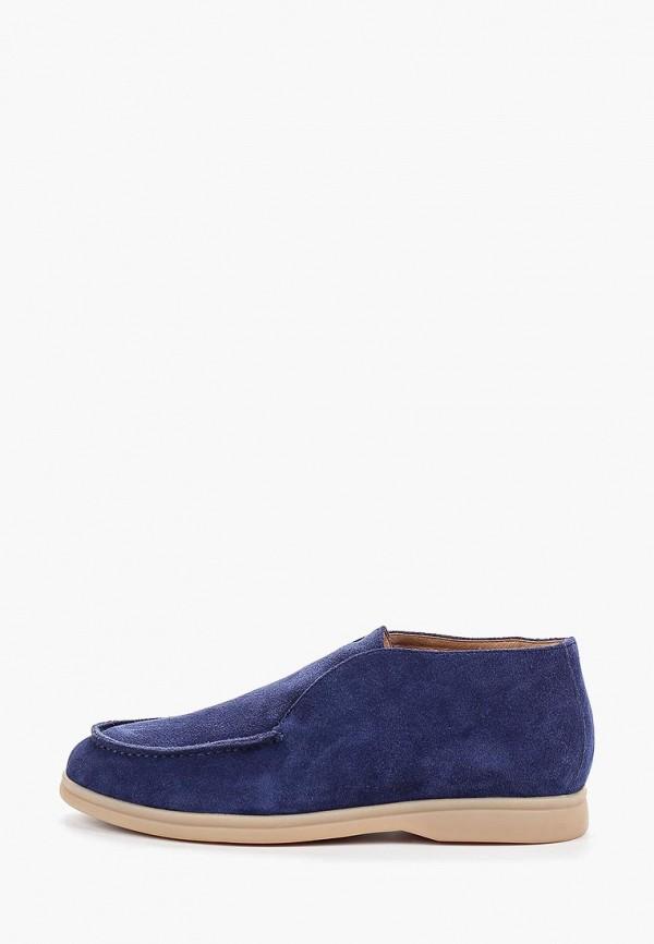 женские ботинки grand style, синие