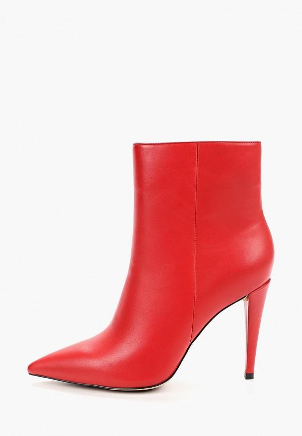 женские ботильоны grand style, красные