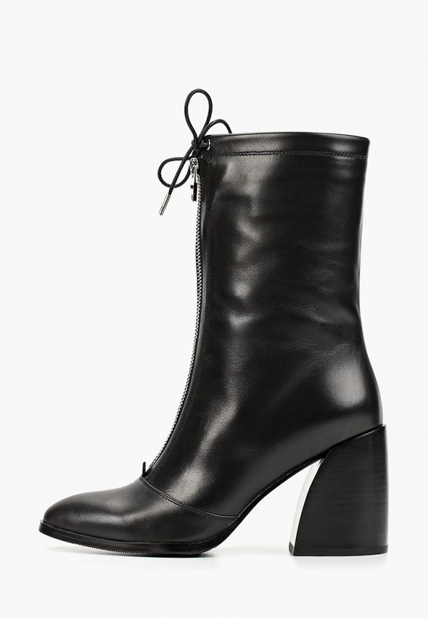женские полусапожки grand style, черные