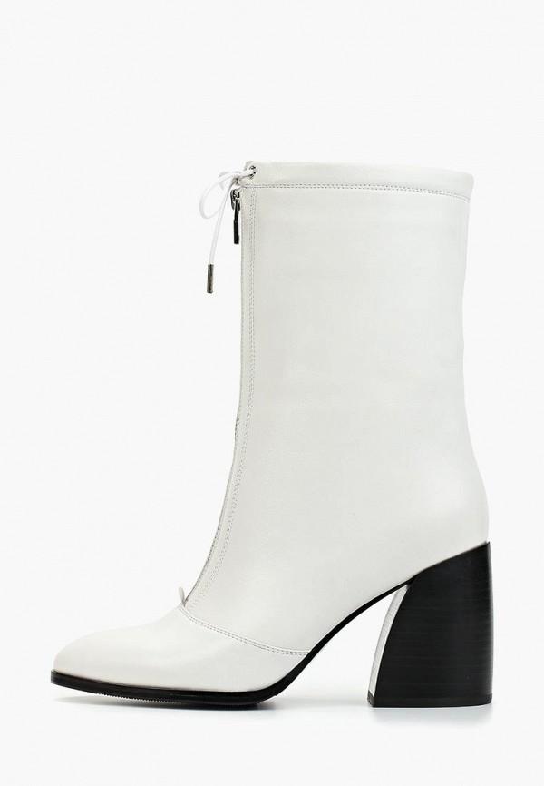 женские полусапожки grand style, белые
