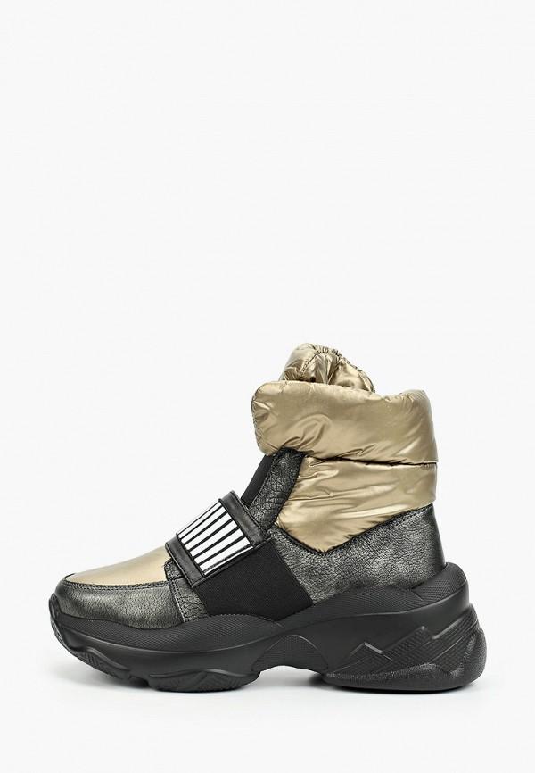 женские ботинки grand style, золотые